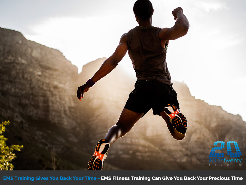 EMS fitness training gives you back your time