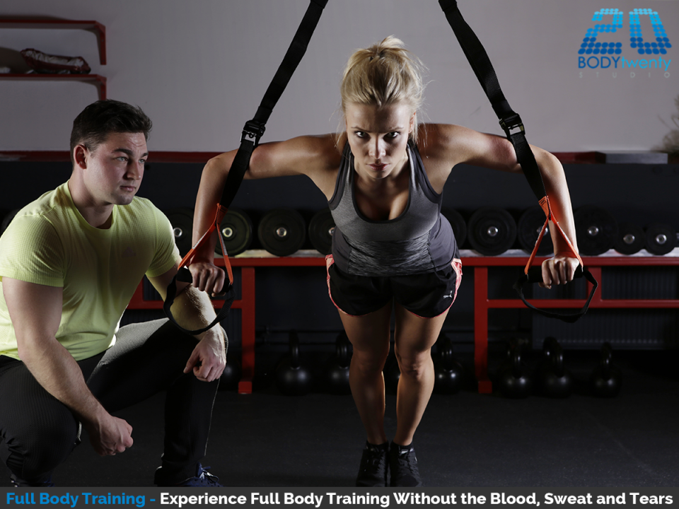 Full body training without the blood sweat and tears