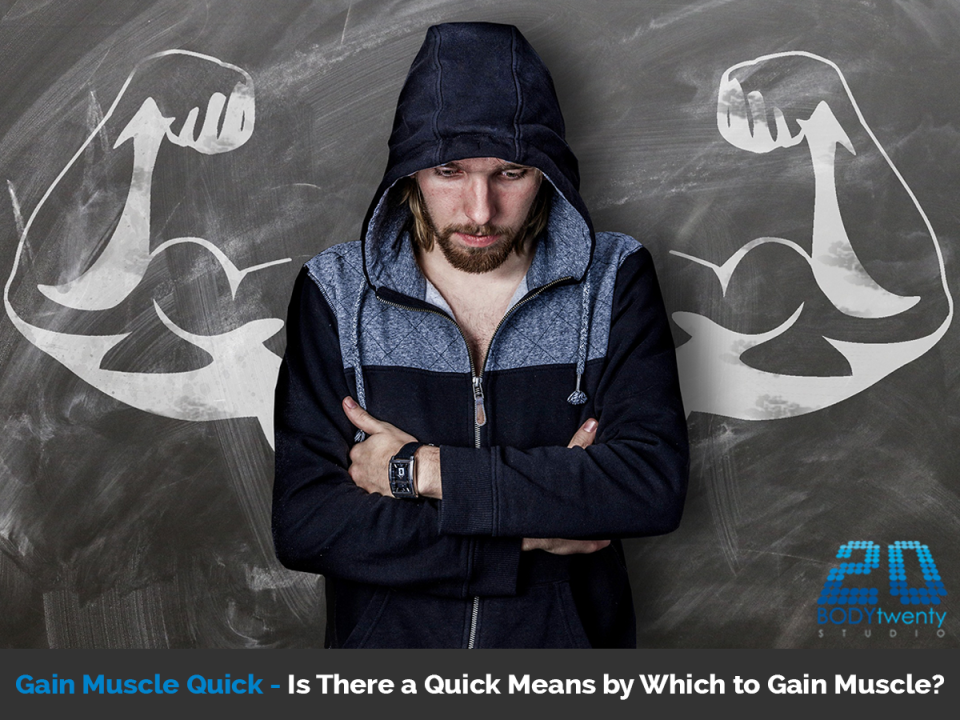 Gain muscle quick with EMS training