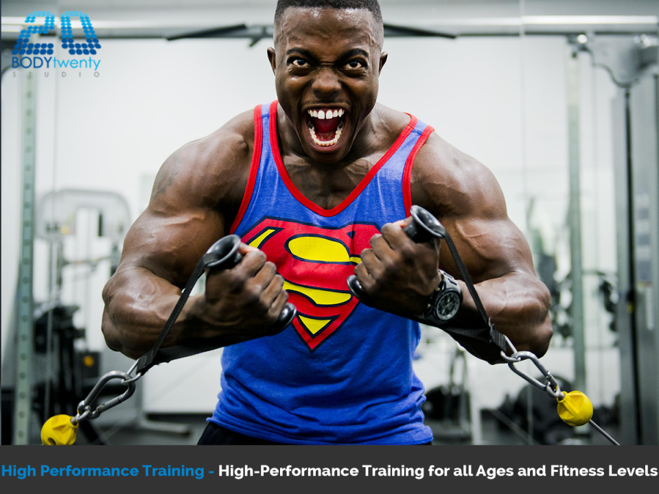 High performance training for all ages and fitness levels