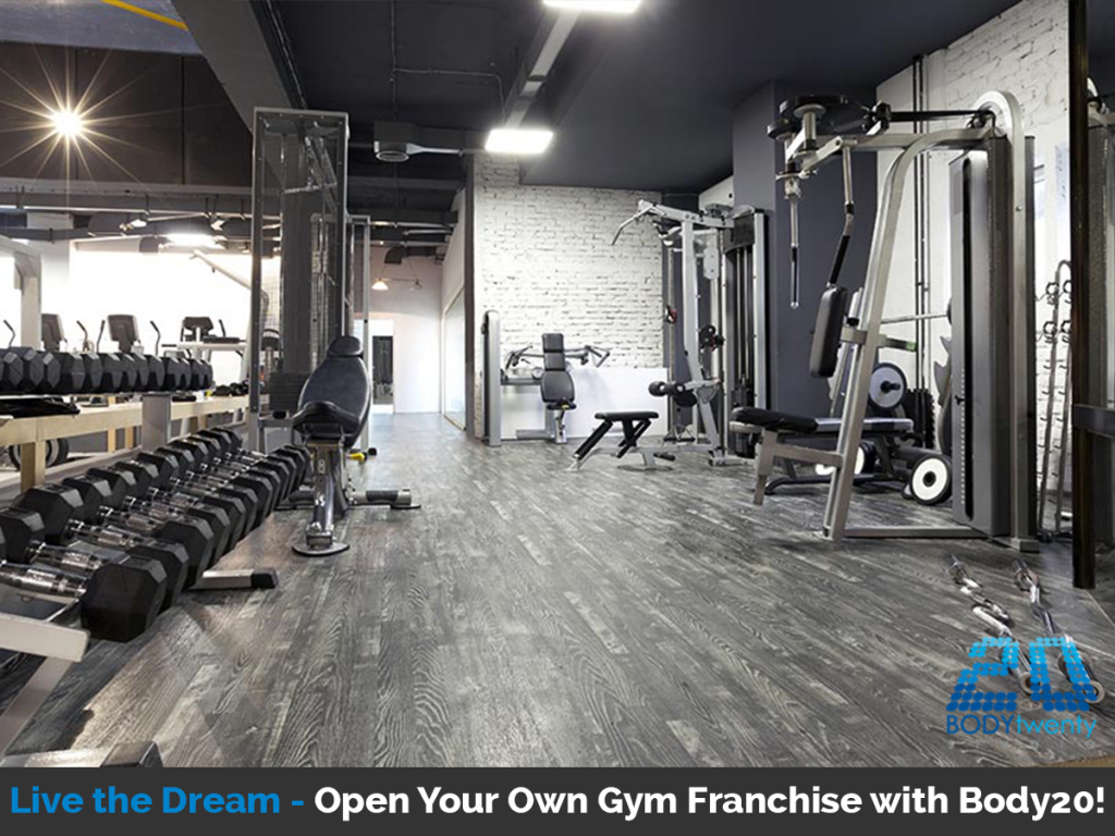 Open your own gym franchise opening a