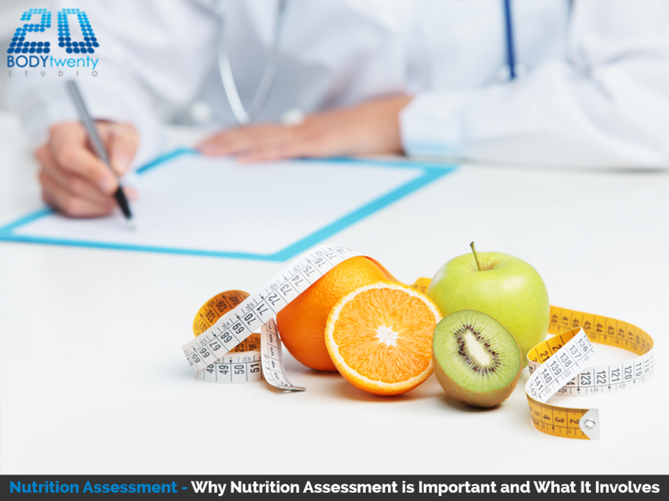 Nutritional assessment is important to your health