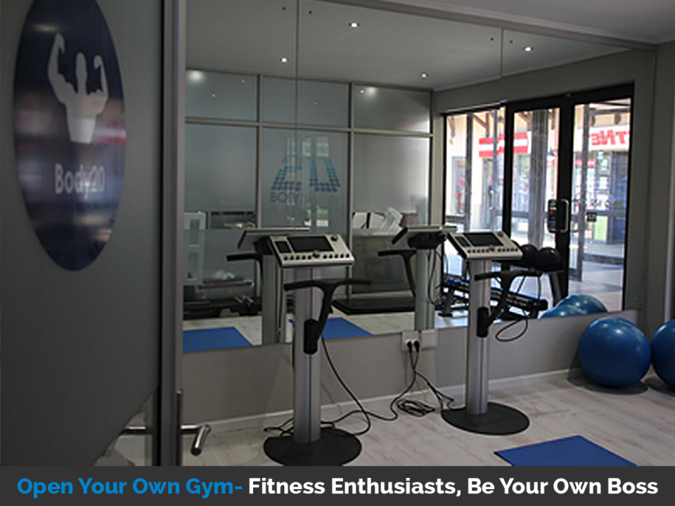 Open your own gym and be your own boss with Body20