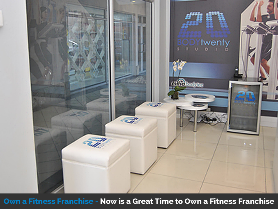 Own a fitness franchise with Body20