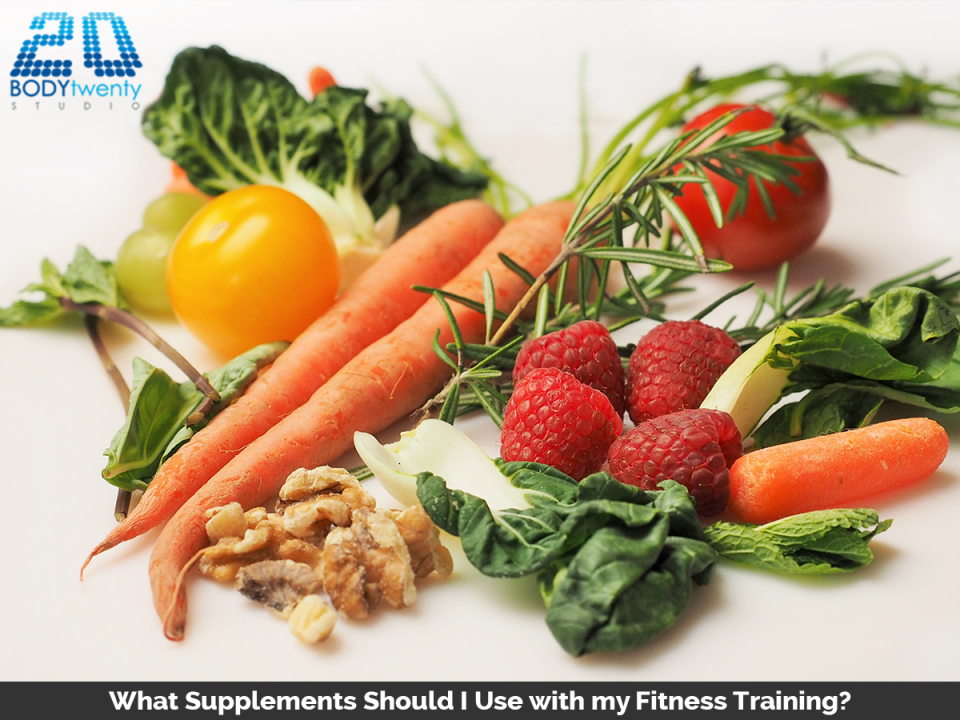 Fitness training supplements to use with fitness training