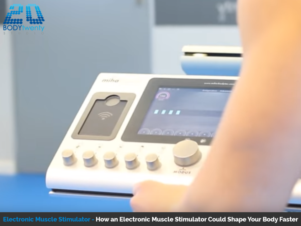 Electrical muscle stimulation beats conventional exercise programmes