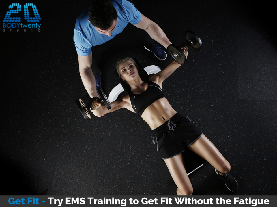 Get fit without fatigue with EMS training